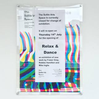 Relax and Dance flyer